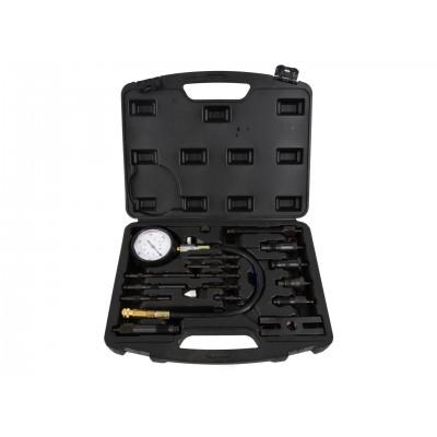 Компрессометр дизельный + адаптеры, 17пр. GEKO G02515