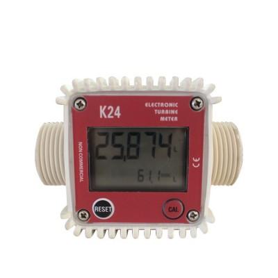 Счетчик расхода топлива REWOLT цифровой турбинного типа RE SLK24
