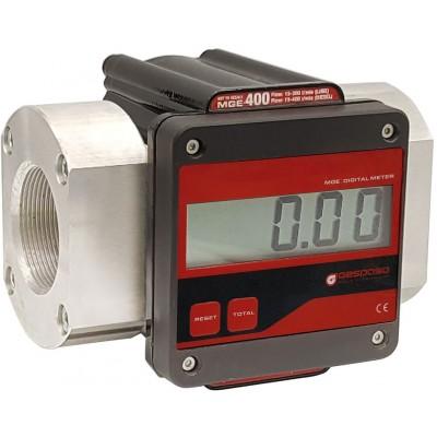 Счетчик электронный для ДТ масел Gespasa MGE-400 400 л/мин