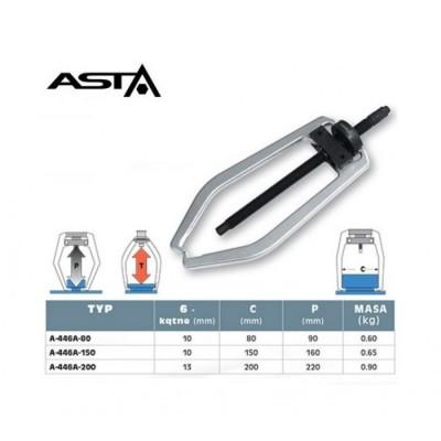 Съемник 2-х лапч. с тонкими захватами, 150мм ASTA A-446A-150