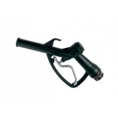 """Пистолет заправочный Piusi 1"""", пластиковый черный"""